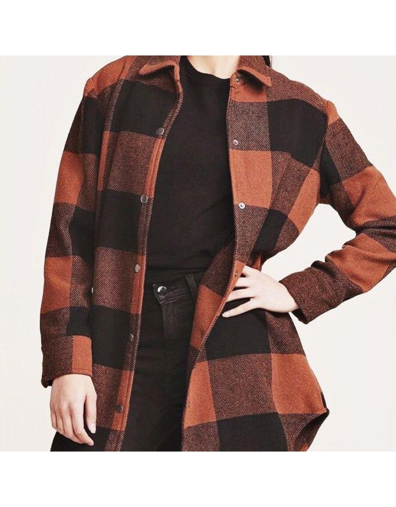 bb dakota bb dakota plaid jacket