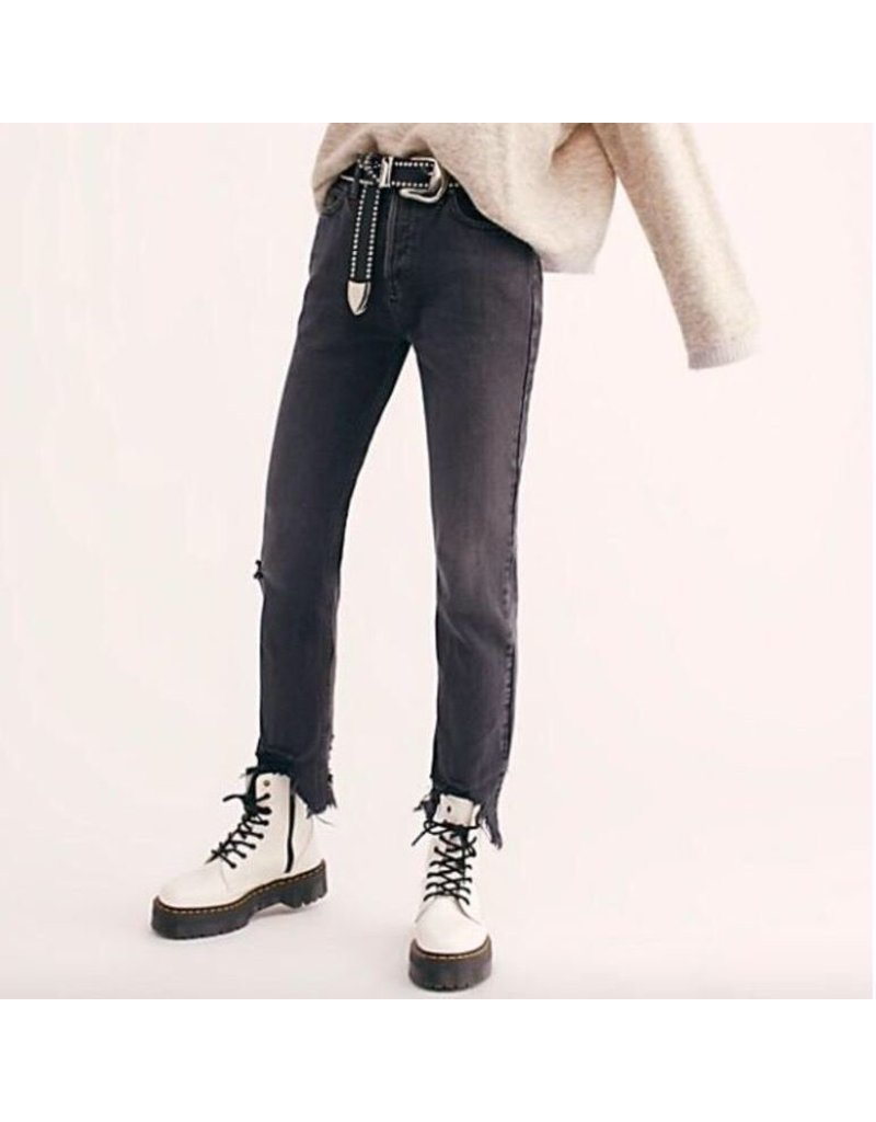 free people free people midrise straight jeans