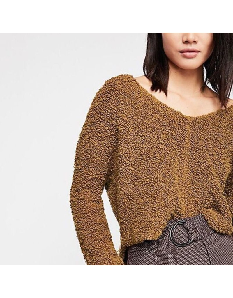 free people free people popcorn pullover