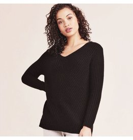 bb dakota bb dakota sweater wtih lace up back