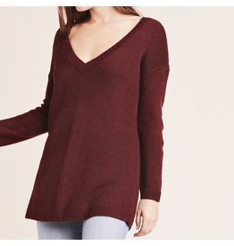 jack jack mercy me v-neck sweater