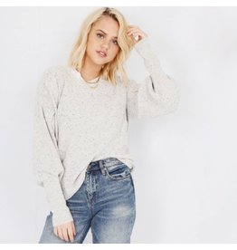 rd style rd style drop puff sleeve sweater
