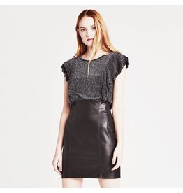 bb dakota bbdakota girl crush vegan leather skirt