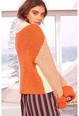 MinkPink minkpink mp|c colorblock sweater