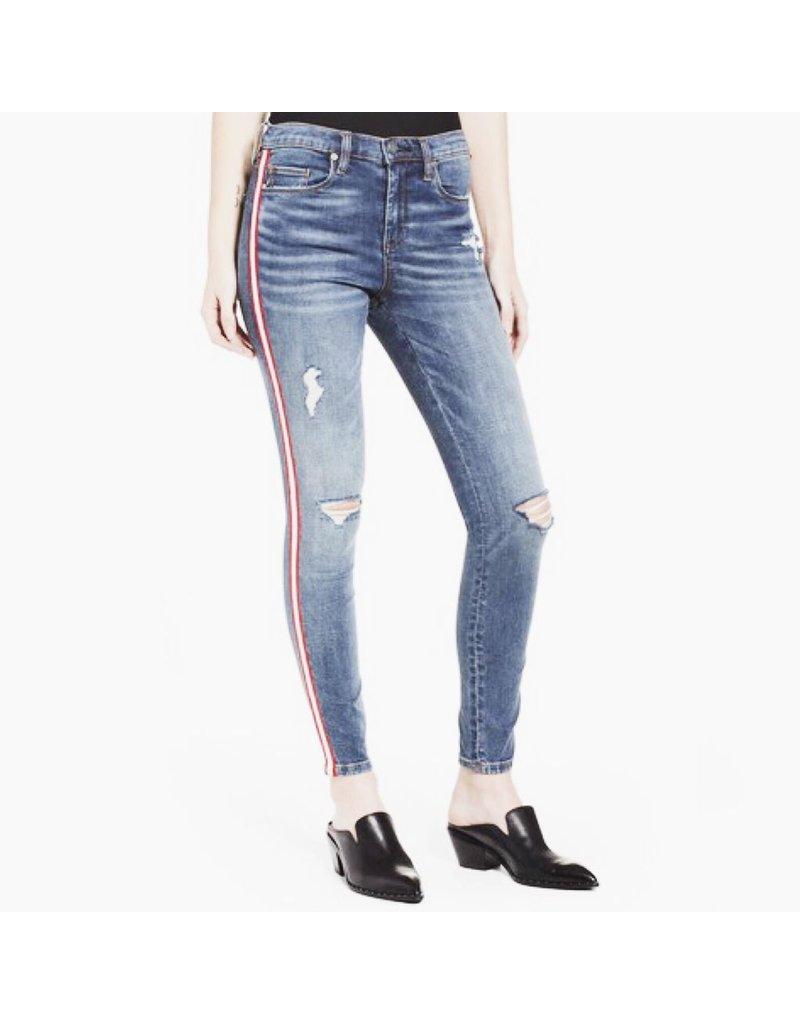 blank nyc blank nyc jersey girls denim with stripe