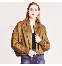 bb dakota jack quilted bomber jacket