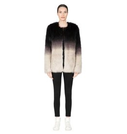 flight lux apparis ombre faux fur coat