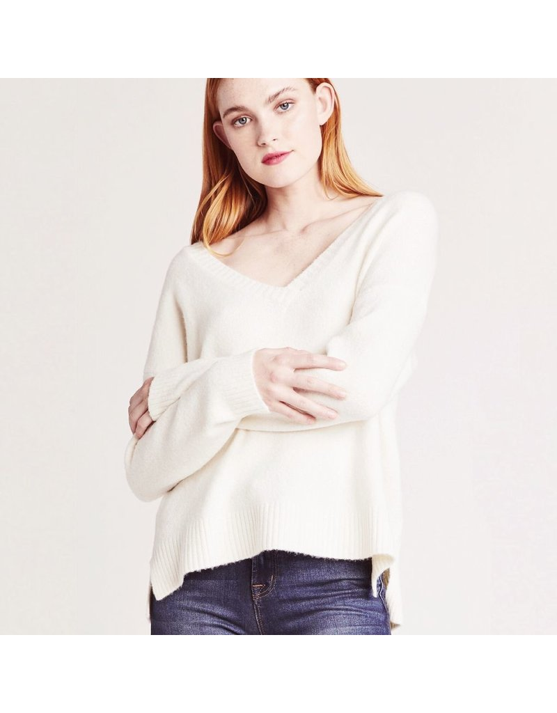 bb dakota jack fair warming v-neck sweater