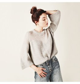 line & dot line & dot heavenly sheer sweater
