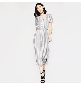 flight lux sadie & sage callie striped jumpsuit