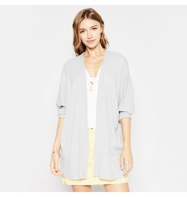 flight lux sadie & sage knit open cardigan