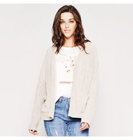 flight lux sadie & sage oversized knit cardigan