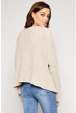 flight lux sadie & sage oversized knit cardigan