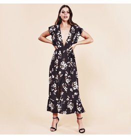 MinkPink minkpink night garden midi dress