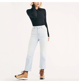 free people free people high straight-leg jeans