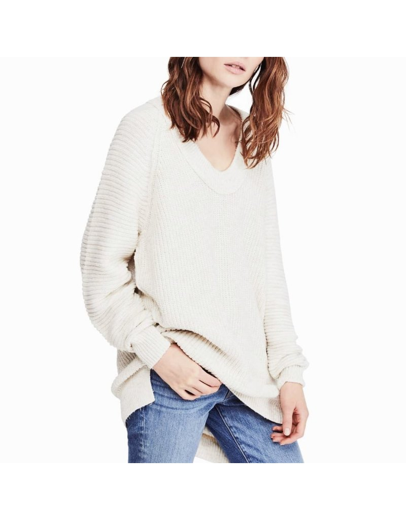 free people free people sunday sweater