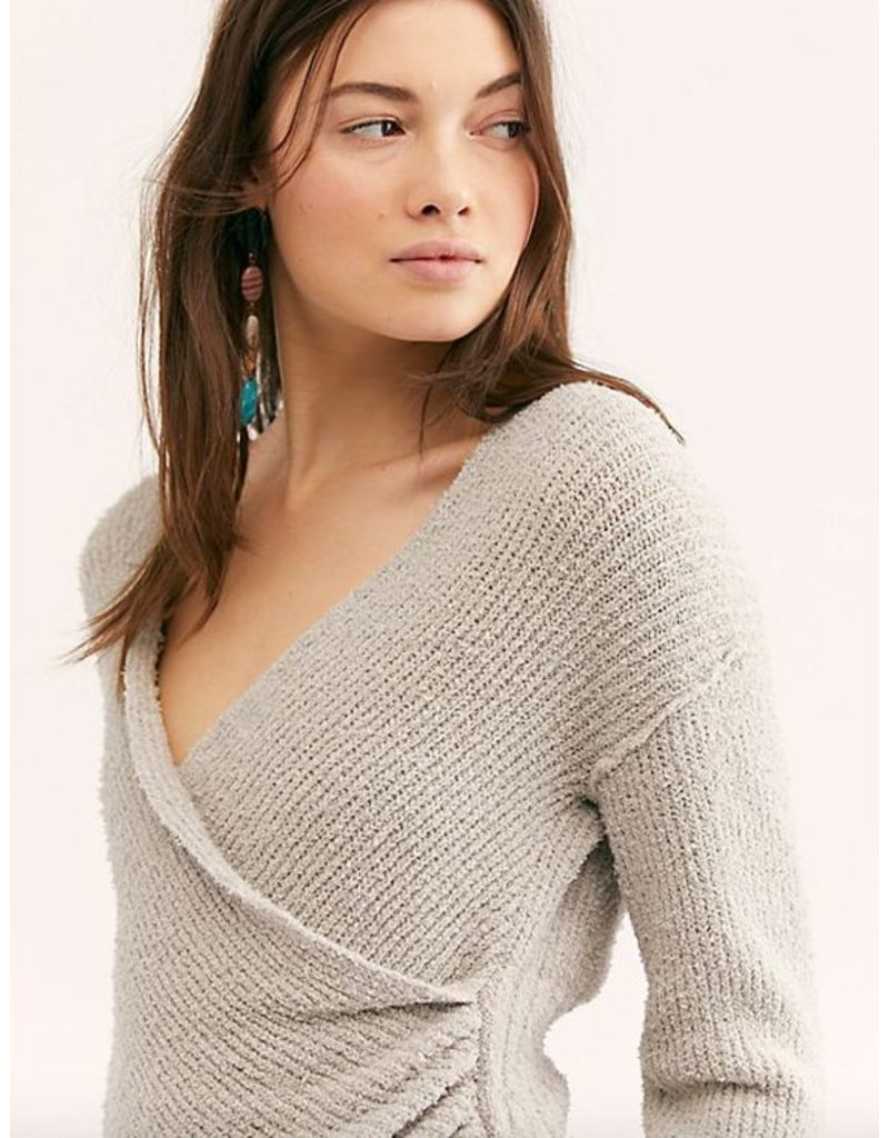 free people free people sensual wrap sweater