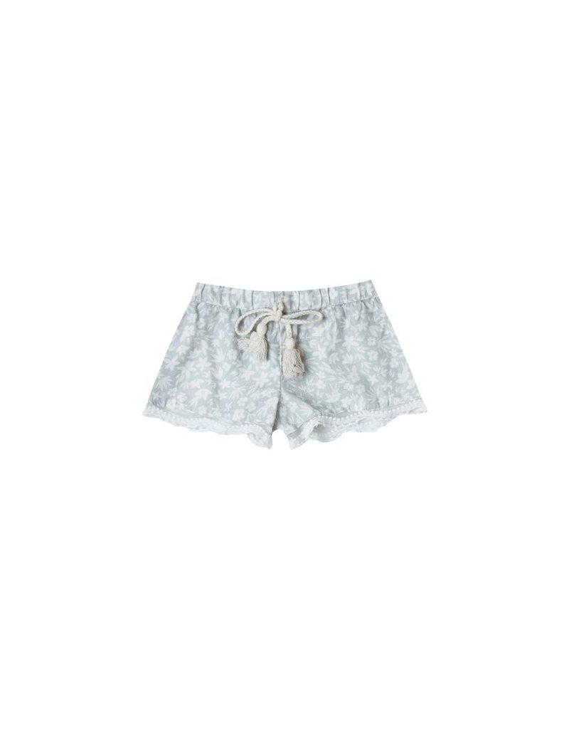rylee cru rylee + cru scallop trim shorts