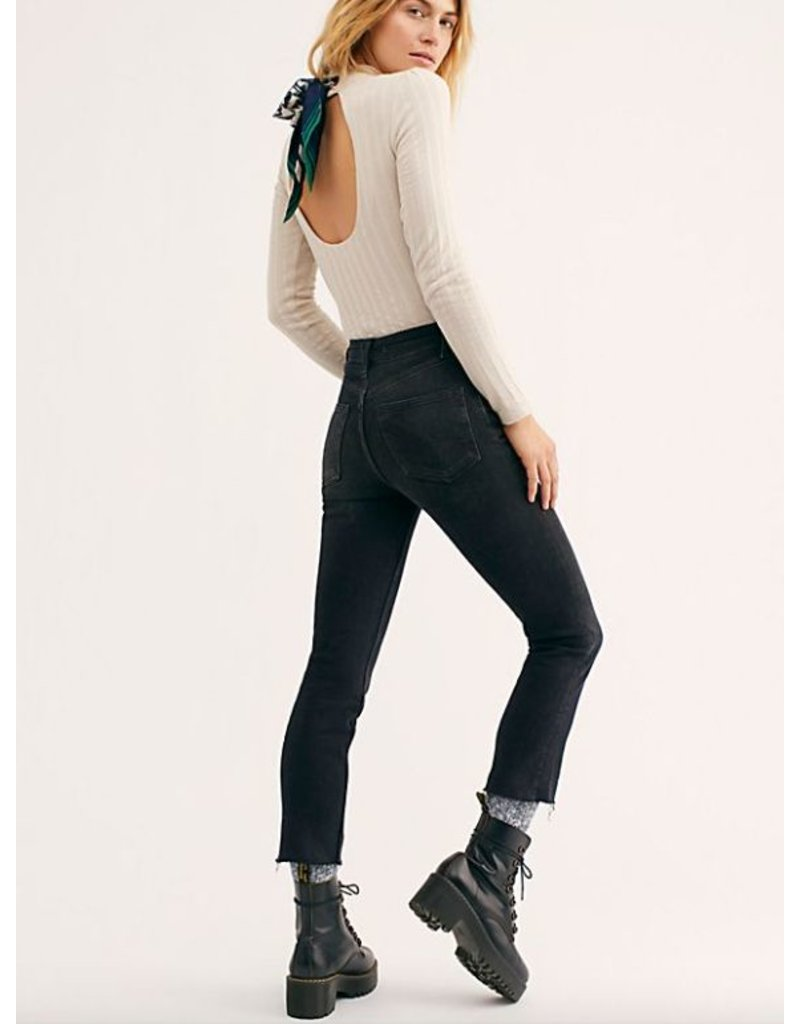 free people free people high slim straight-leg jeans