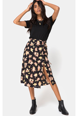 motel motel gamaris midi high waist skirt