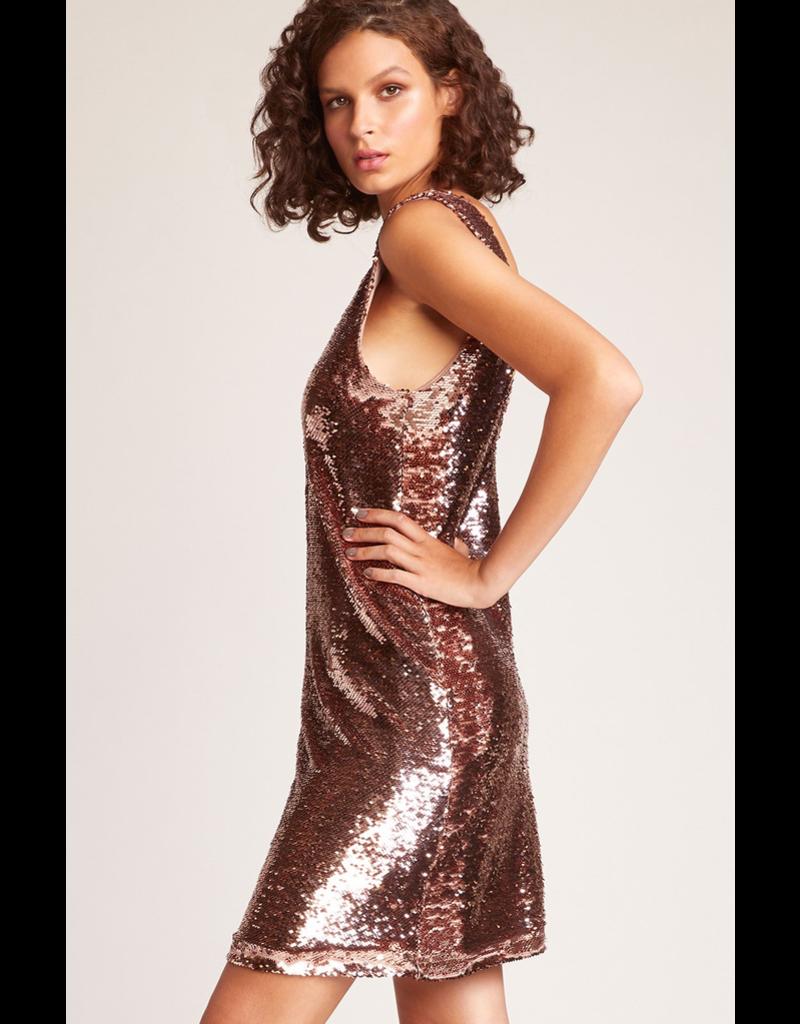 bb dakota bbdakota sparkle motion sequin dress
