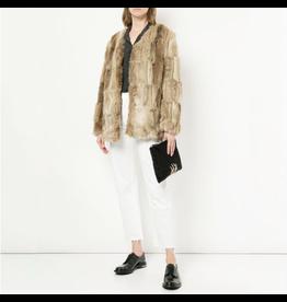 unreal fur unreal fur blond on blond jacket
