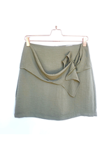 MinkPink minkpink waist detail mini skirt