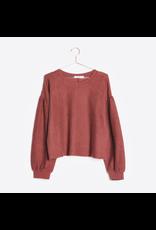 flight lux mod ref oversized sleeve inside out sweatshirt