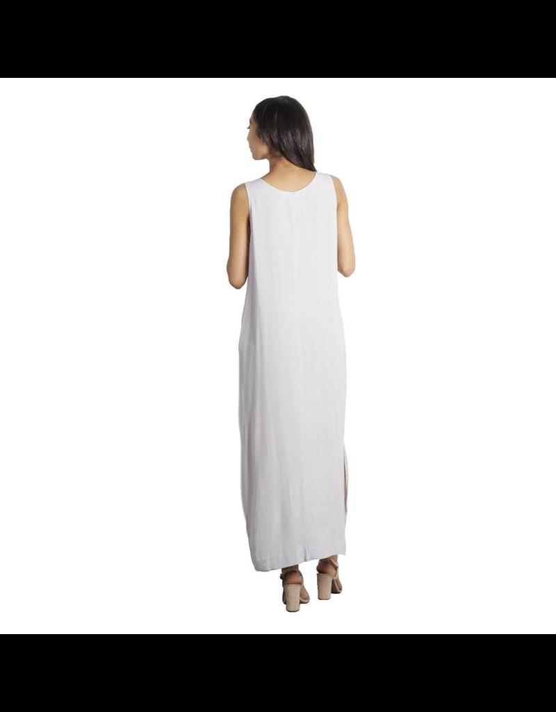 flight lux mod ref oversize midi button down dress