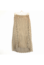 j.o.a. joa pleated high low skirt