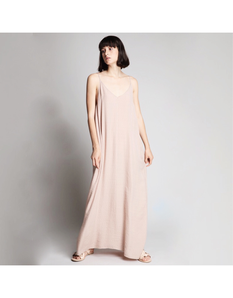 flight lux grade & gather cocoon maxi dress