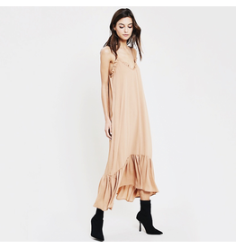 wishlist wishlist ruffle maxi dress