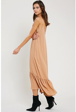 wishlist wishlist ruffle maxi dress