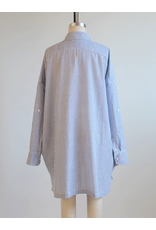 audrey audrey oversized button up shirt