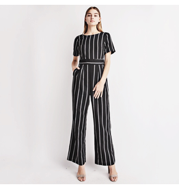 le lis le lis striped jumpsuit