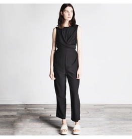 flight lux grade + gather cross drape jumpsuit