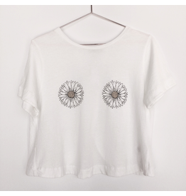 flight lux comune tee with daisy boobs
