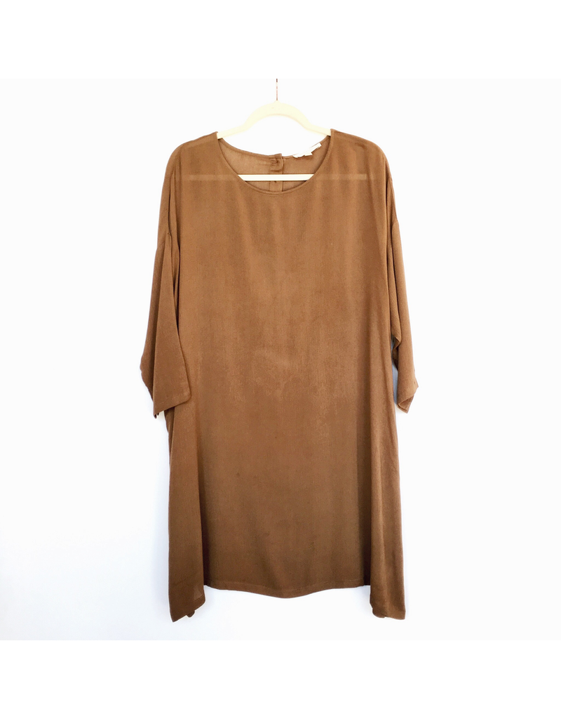 flight lux grade & gather oversize midi dress