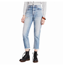 free people free people relaxed skinny jeans