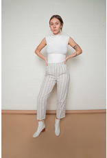flight lux no less than mixed direction stripe pant