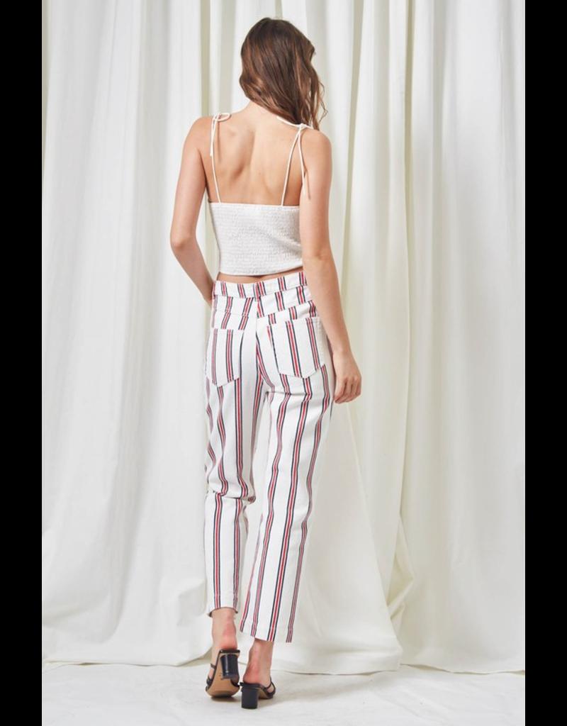 flight lux etophe striped woven pants
