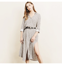 flight lux dress forum leopard button up dress