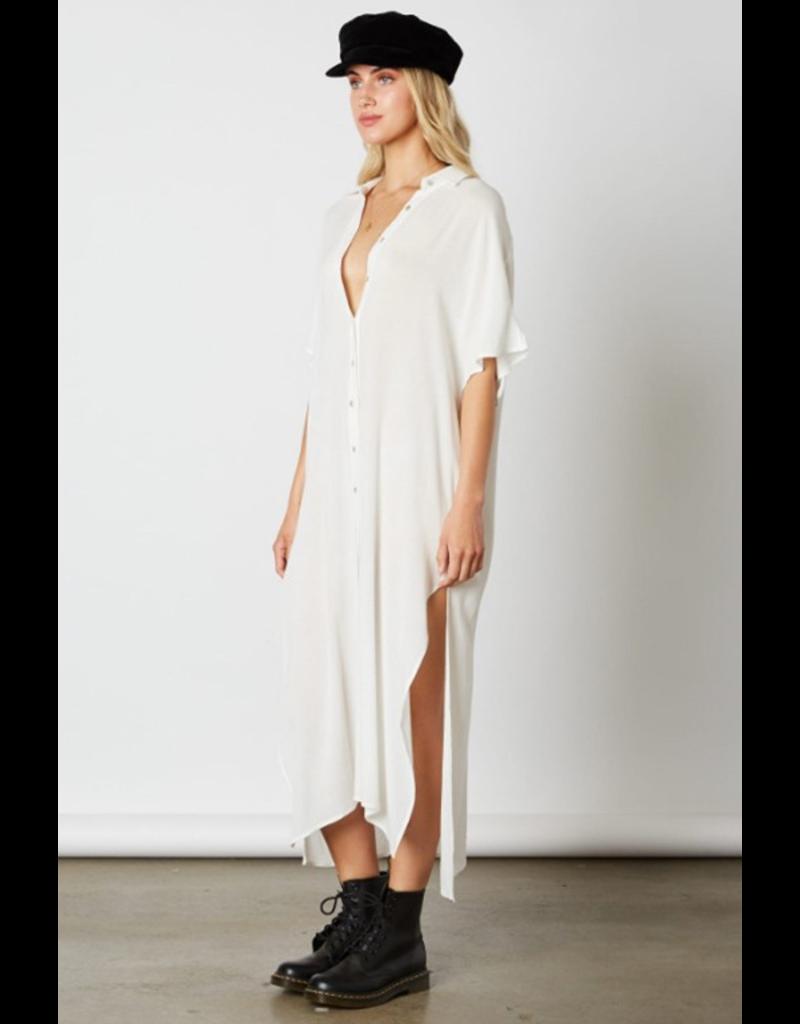 cotton candy button up shirt dress