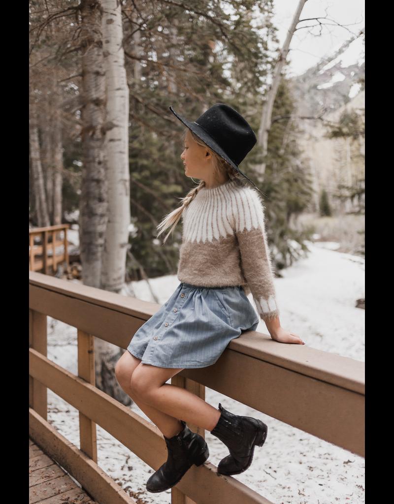 rylee cru rylee + cru chalet sweater