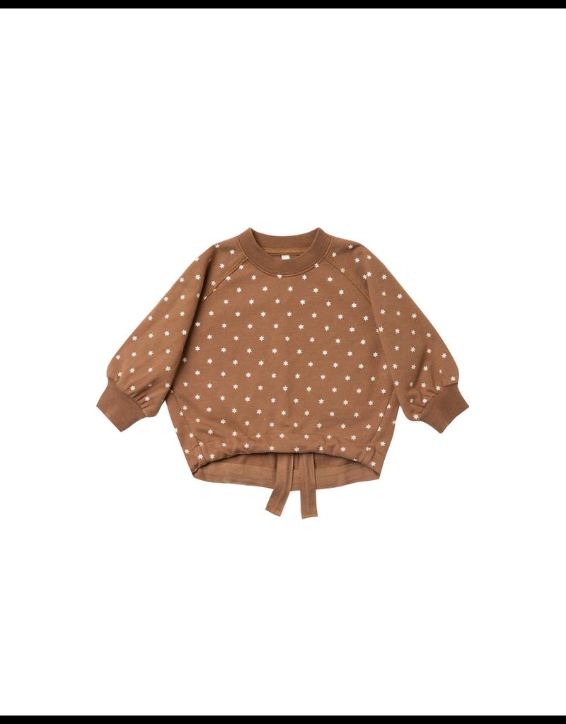 rylee cru rylee + cru celestial cinched sweatshirt