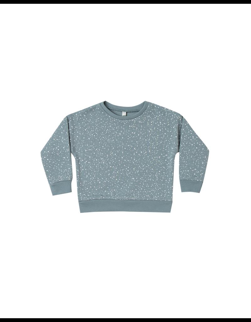 rylee cru rylee + cru snow relaxed sweatshirt