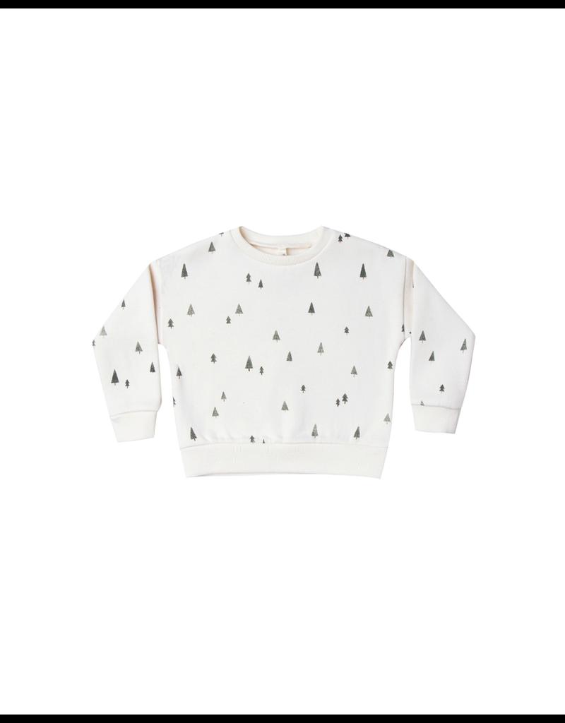 rylee cru rylee + cru trees relaxed sweatshirt