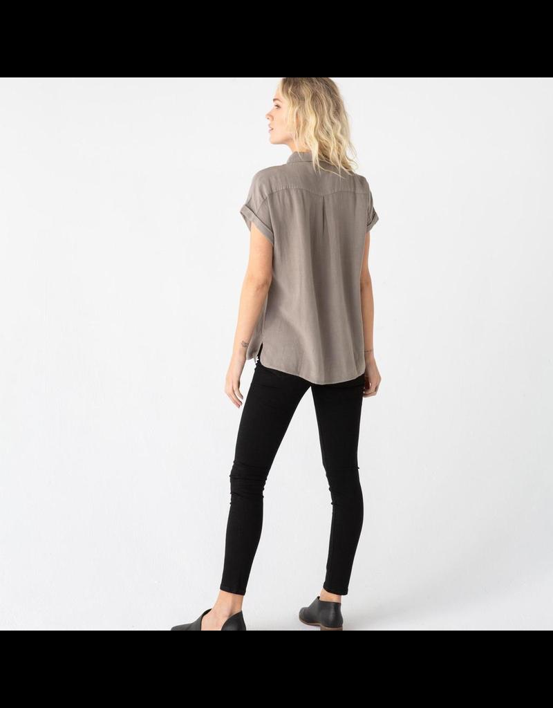 flight lux thread + supply janelle button up shirt