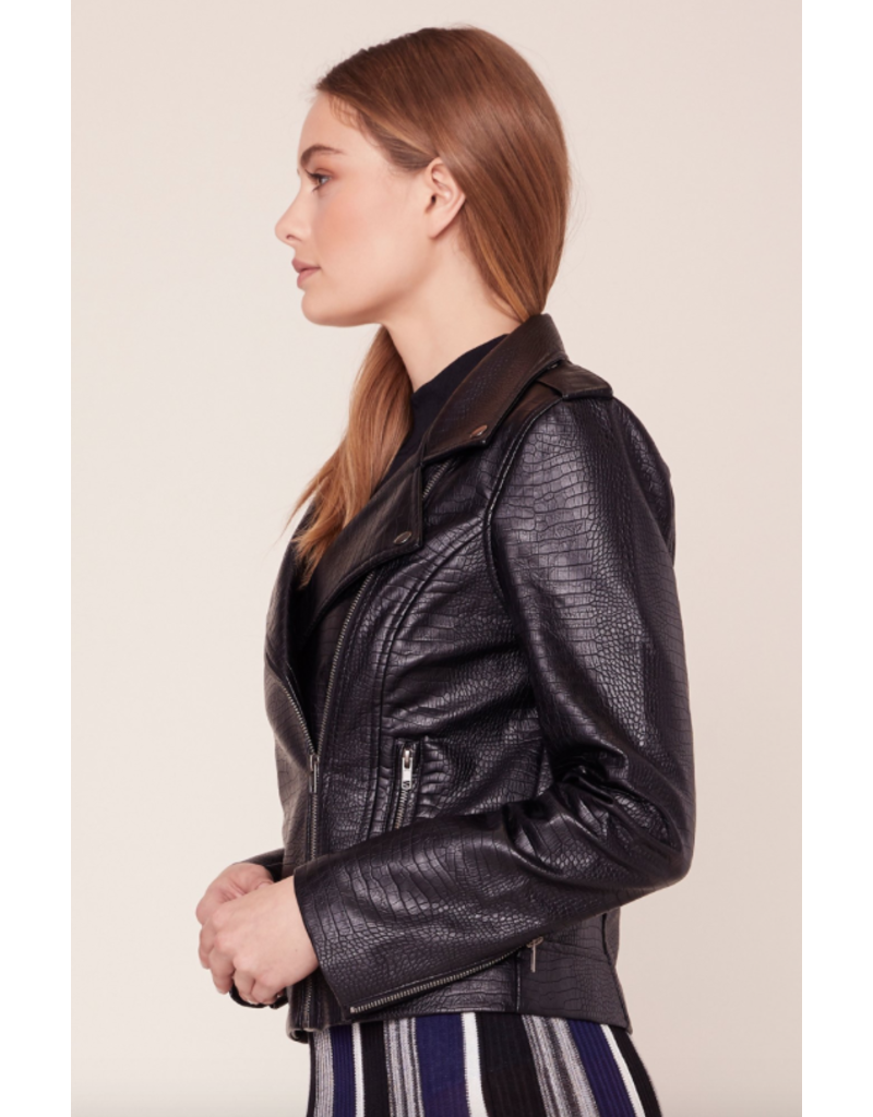 bb dakota bbdakota lucky lizard faux leather jacket