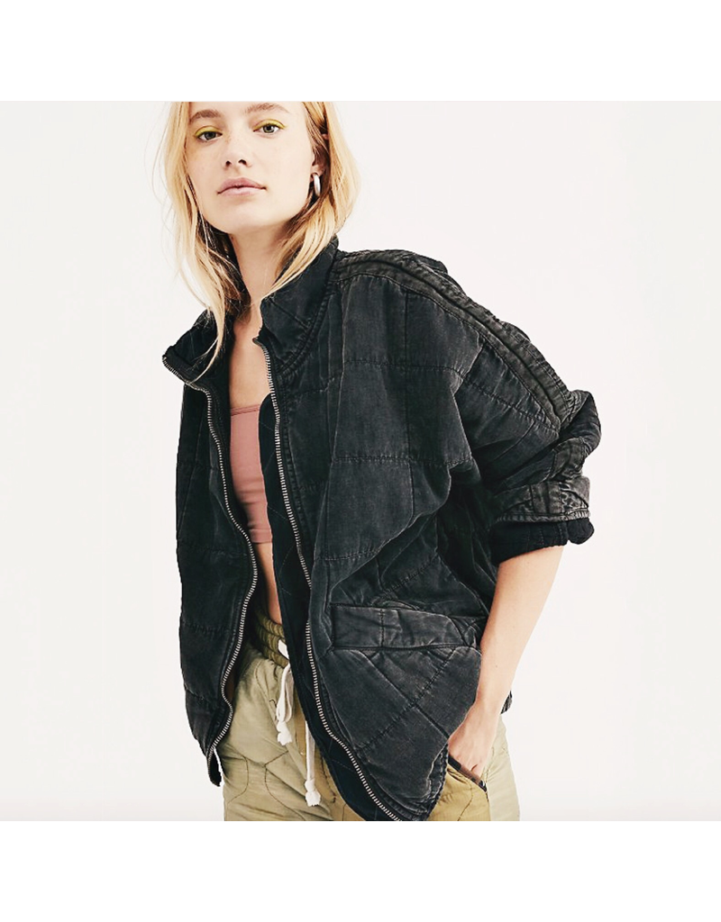 free people free people dolman quilted jacket